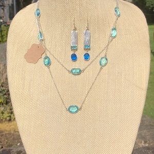 Topaz Necklace Set